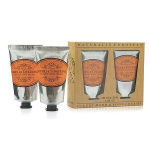 Cadeauset Hand & Foot Cream Neroli & Tangerine
