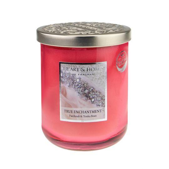 Heart & Home Geurkaars In Pot (groot) - True Enchantment