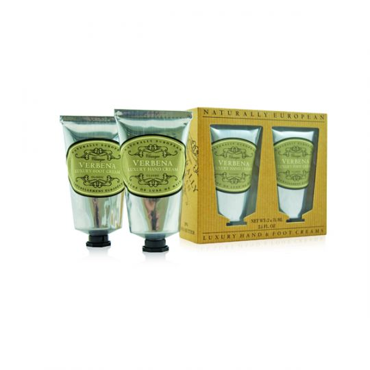 Cadeauset Hand & Foot Cream Verbena