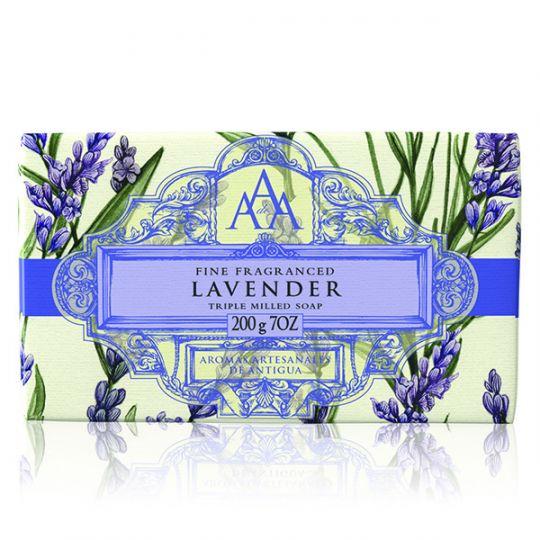 AAA Floral Soap Bar Lavender - Lavendel
