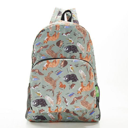 Eco Chic - Backpack - B06OE - Olive Woodland