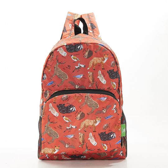 Eco Chic - Backpack - B06RD - Red Woodland