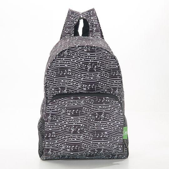 Eco Chic - Backpack - B10BK - Black Music