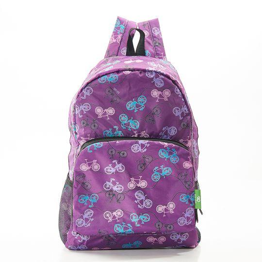 Eco Chic - Backpack - B30PP - Purple Bike
