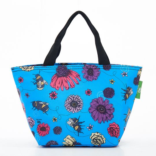 Eco Chic - Cool Lunch Bag - C02BU - Blue Bee