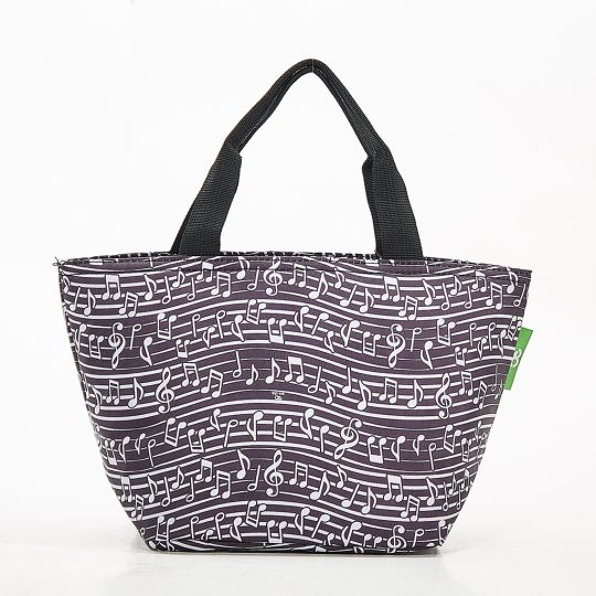 Eco Chic - Cool Lunch Bag - C10BK - Black Music