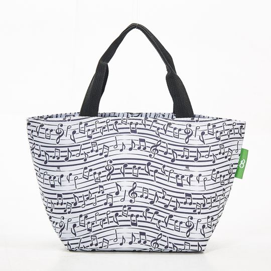 Eco Chic - Cool Lunch Bag - C10WT - White Music