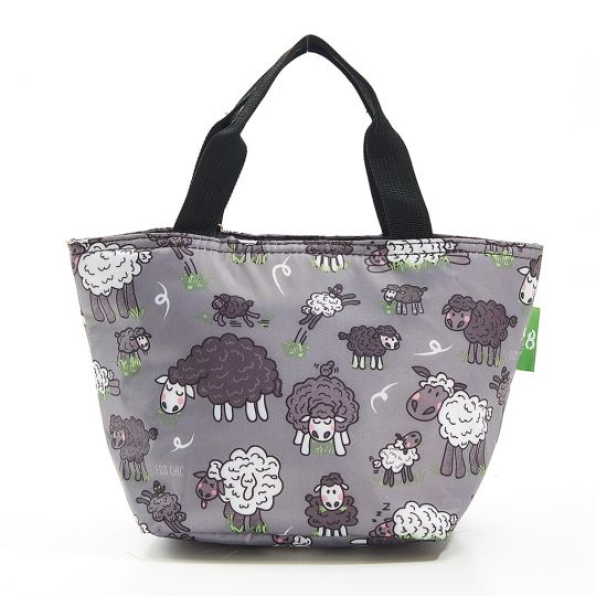Eco Chic - Cool Lunch Bag - C27GY - Grey Sheep