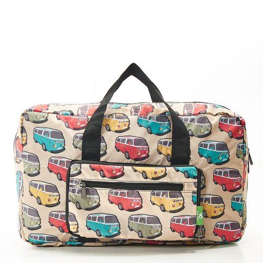 Eco Chic - Foldable Holdall (weekendtas) - D21TL - Teal Camper Vans