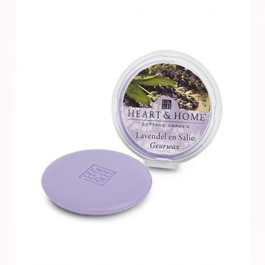 Heart & Home geurwax - Lavendel & Salie