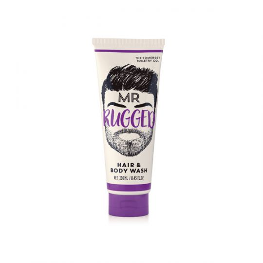 Bearded Men Hair and Body Wash - Mr. Rugged