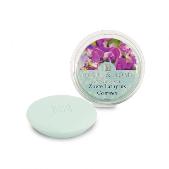 Heart & Home - Geurwax - Zoete Lathyrus
