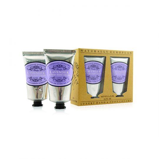 Cadeauset Hand & Foot Cream Lavender