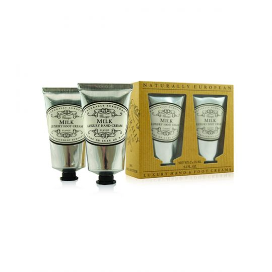 Cadeauset Hand & Foot Cream Milk