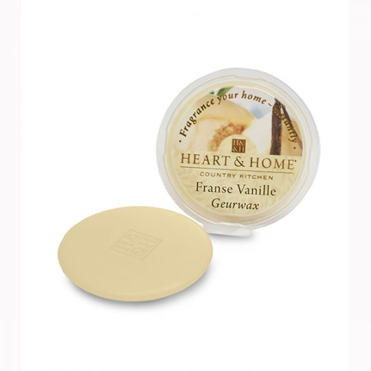 Heart & Home - Geurwax - Franse Vanille