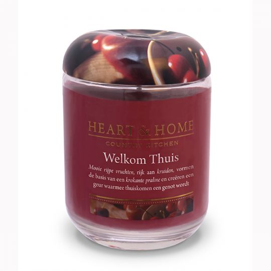 Heart & Home kaars - Welkom Thuis (groot)