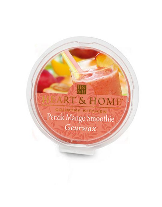 Heart & Home - Geurwax - Perzik Mango Smoothie
