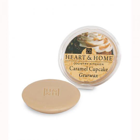 Heart & Home - Geurwax - Caramel Cupcake
