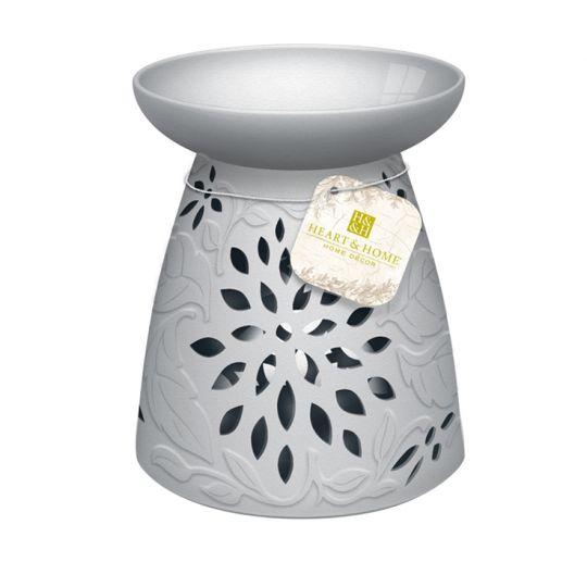 Heart & Home - Geurwaxbrander - Keramische bloem