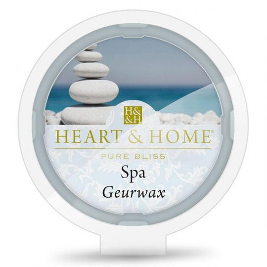 Heart & Home - Geurwax - Spa