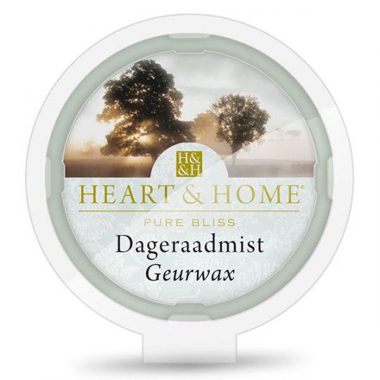 Heart & Home - Geurwax - Dageraadmist
