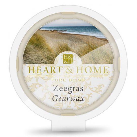 Heart & Home - Geurwax - Zeegras