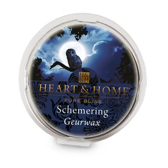 Heart & Home - Geurwax - Schemering