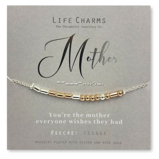 Life Charms - SM12- armband Secret Message - Mother
