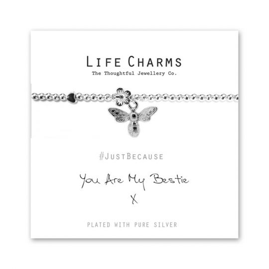 480202 - Life Charms - LC002BW - Just because - Bestie