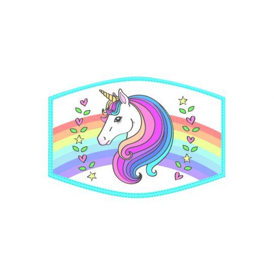 Mondkapje - Kind - Unicorn Head