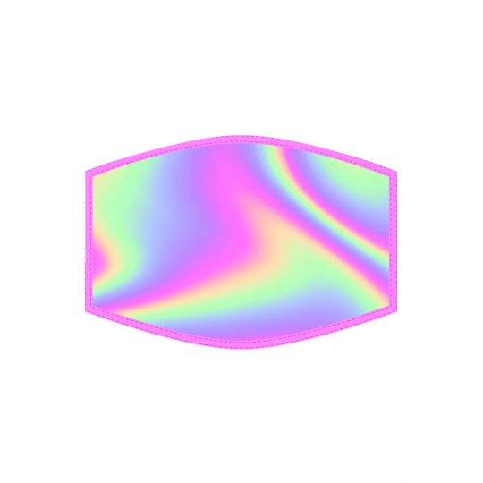 Mondkapje - Kind - Iridescent