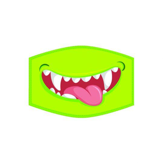 Mondkapje - Kind - Monster Smile