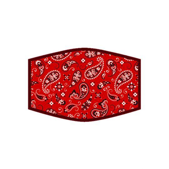 Mondkapje - Red Bandana