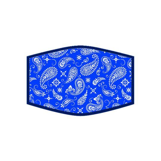 Mondkapje - Blue Bandana