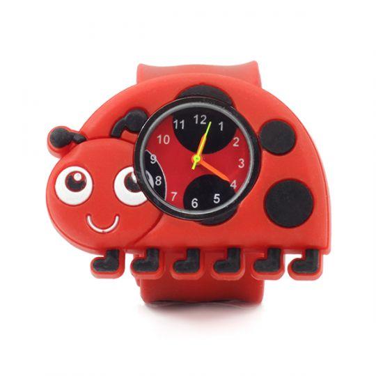 PopWatches - horloge - Lieveheersbeestje