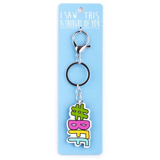 Keyring - I saw this & thougth of You - Steering Wheel