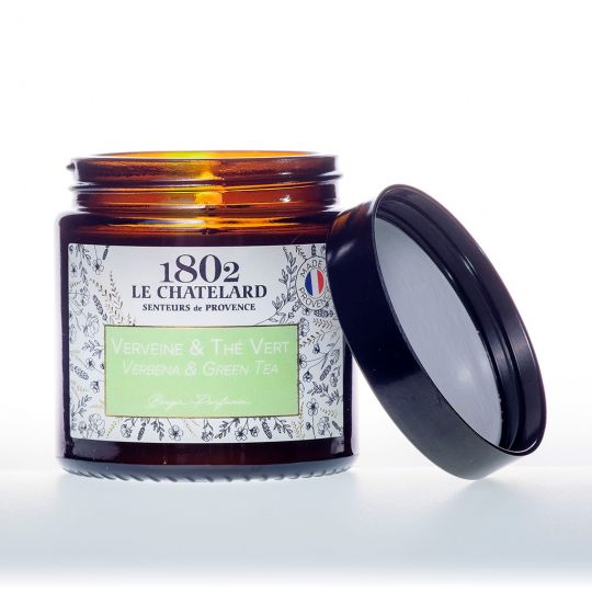 LC1802 - Candle Scented - BAUT-095 - Verbena-Green Tea - 80 gram