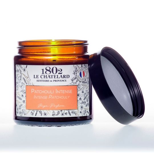 LC1802 - Candle Scented - BAUT-124 - Patchouli intens - 80 gram