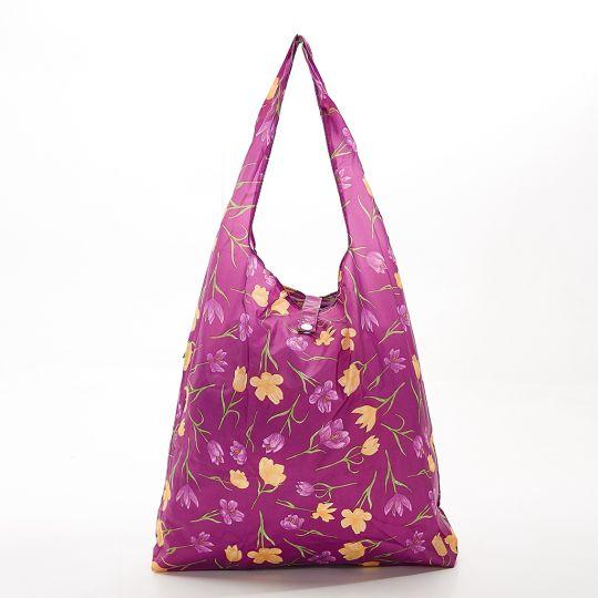 Eco Chic - Foldaway Shopper - A14PP - Purple - Crocus