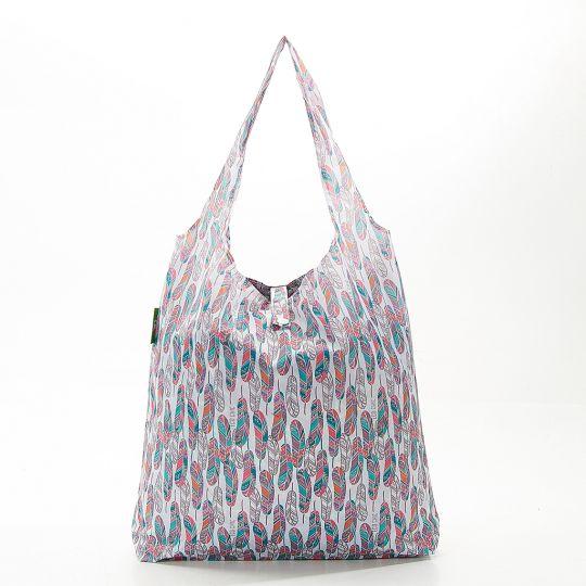 Eco Chic - Foldaway Shopper - A22WT - White - Feather