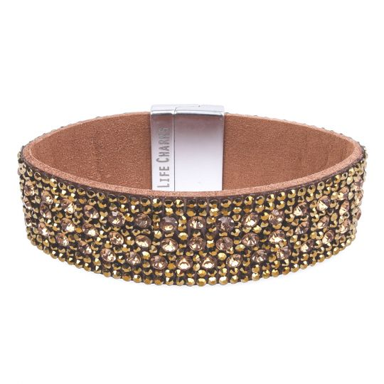 480319 - Life Charms - BT19 - Wrap Bracelet Bronze Diamant