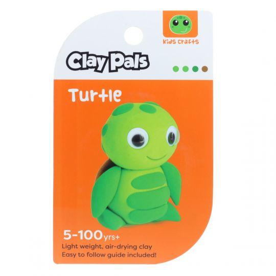 Clay Pals kleisetje - Turtle (Schildpad)