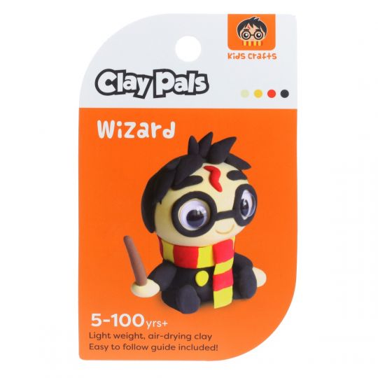 Clay Pals kleisetje - Boy Wizzard (Tovenaar)