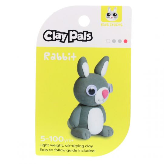 Clay Pals kleisetje - Rabbit (konijn)