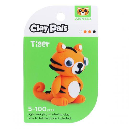 Clay Pals kleisetje - Tiger (tijger)