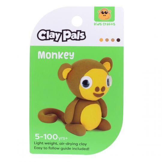 Clay Pals kleisetje - Monkey (aap)