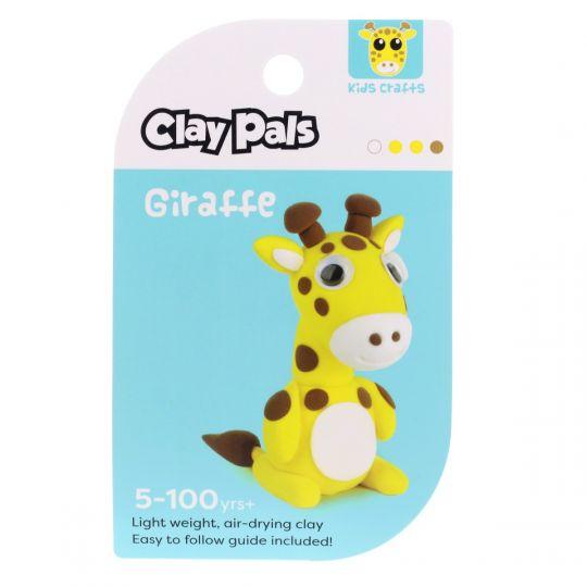 Clay Pals kleisetje - Giraffe