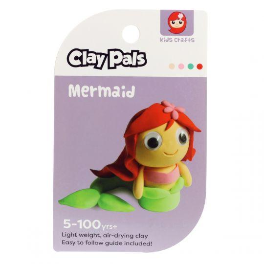 Clay Pals kleisetje - Mermaid (zeemeermin)