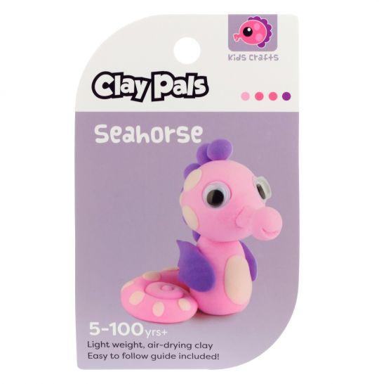 Clay Pals kleisetje - Seahorse (zeepaard)