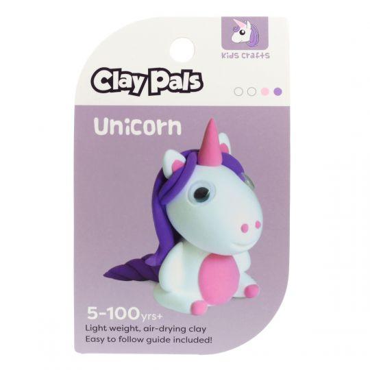 Clay Pals kleisetje - Unicorn